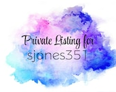 Private Listing for sjones351