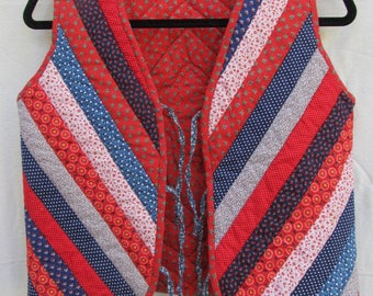 1970's Quilted Vest
