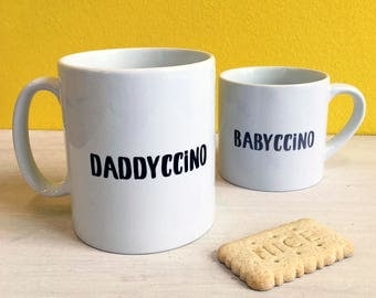 Daddy And Me Mug Set