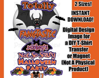 Digital Disney Halloween Shirt Transfer DIY Disney Shirts Matching Family Shirts  Mickeys Halloween Party Clip Art