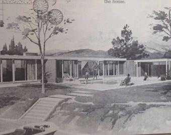 210 Hause Plant Eine Geschichte Designs über 2000 Quadrat Fuß Mid Century  Modern Haus Design