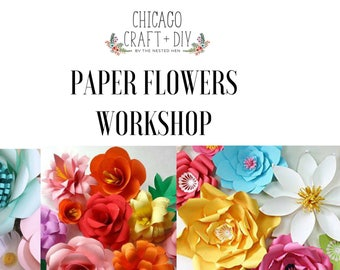 DIY Paper Flowers - Small, Medium and GIANT