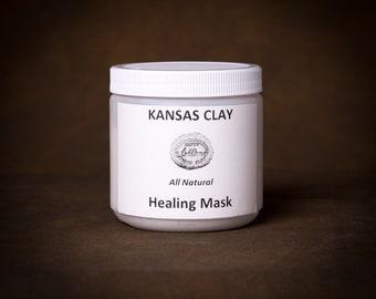 Kansas Clay Facial Healing Mask