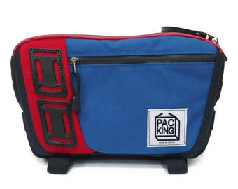 Camera Bag / Shoulder Bag / Cross-body bag / Blue / PakKing