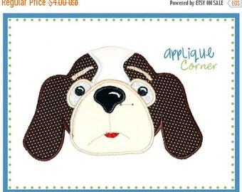 50% Off 003 Hounddog boy applique digital design for embroidery machine by Applique Corner