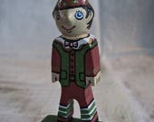 Shelf Elf OOAK wood folk art