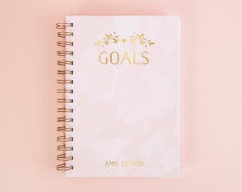Personalised Goals Notebook