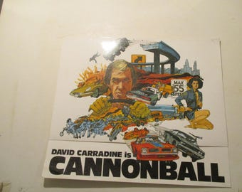 David Carradine in Cannonball      Movie Promotional from 1976  Movie