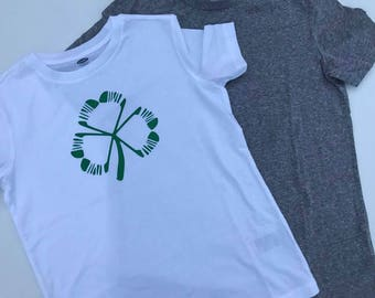 Boys St. Patrick's Day Shirt, Irish T-Shirt, St. Patrick's Day T-shirt  Boys tee shirt, Shamrock hockey t-shirt