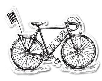 Original Ride Indiana Sticker