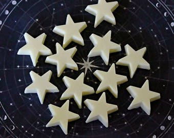 10 Little Star Soaps/It's a boy/It's a Girl/Baby shower favors/DIY soap favors/Wedding favors/birthday soap favors
