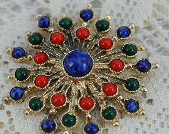 Vintage Sarah Coventry Brooch Circa 1950's Ladies Jewelry  - #390-AW