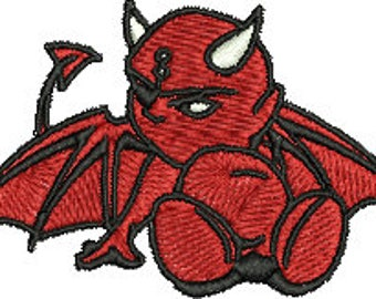Devil Digitized Machine Embroidery Design