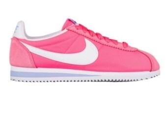 Bling nike shoes- bling pink nikes- custom nike shoes -custom sparkly sneakers- crystal nike shoes-custom teal nikes -rhinestone nikes-