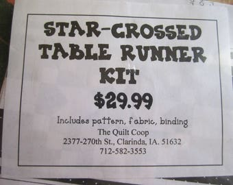 Star-Crossed Table Runner Kit