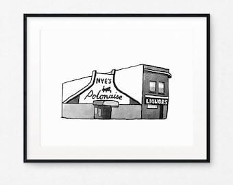 Nye's Polonaise Room Archival Print