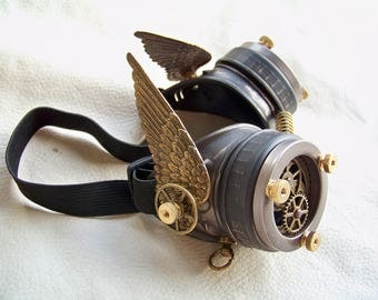 Steampunk Engineer Goggles- Valkyrie