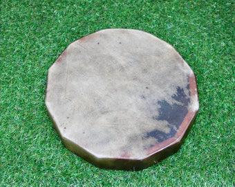 "12"" Red Deer/Stag Rawhide Drum. Thunderous Drum Native American Style / Shaman / Pagan Drum"