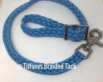 Rein grabber, safety rein saver, rein strap, horse tack, rein