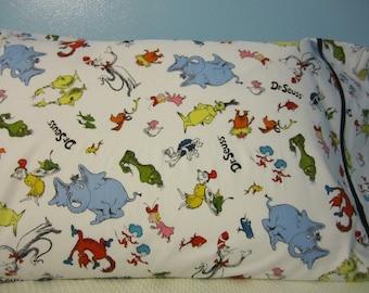 Dr. Seuss Characters/Pillowcase