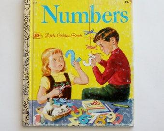 "Little Golden Book ""Numbers"" - Children's Book, Story Book, Animal Book"