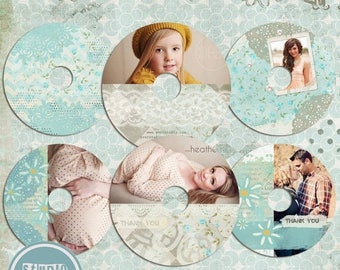 ON SALE NOW cd/dvd  labels photoshop templates, cd/dvd  Labels - Instant Download