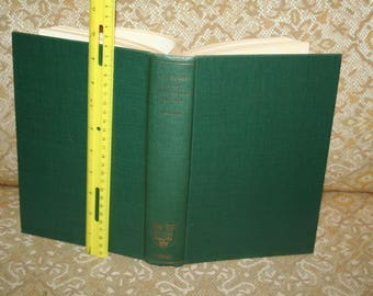 """Vintage 1964 """"Lives of the Lord Chancellors 1885-1940"""" by R.F.V. Heuston!  Autographed by Author!  Clarendon Press / Oxford 632 Pages!"""