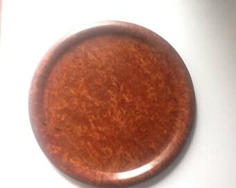 Redwood Cluster Burl Platter