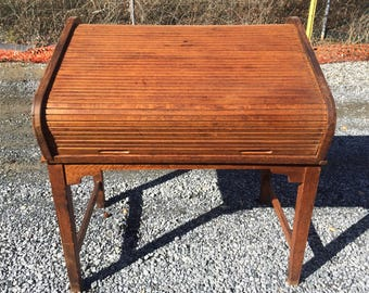 BUCHAN LOOSE LEAF Records company Roll Top Desk 1920's