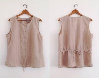 Vintage linen shirt | Etsy