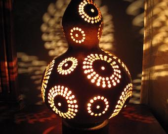 Fireworks Gourd Lamp