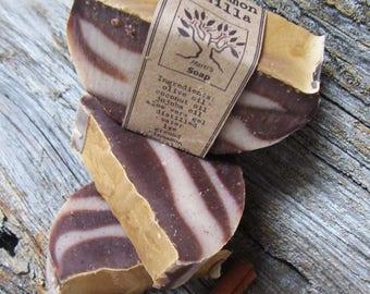 Cinnamon Vanilla Castile - 77% Olive Oil Soap