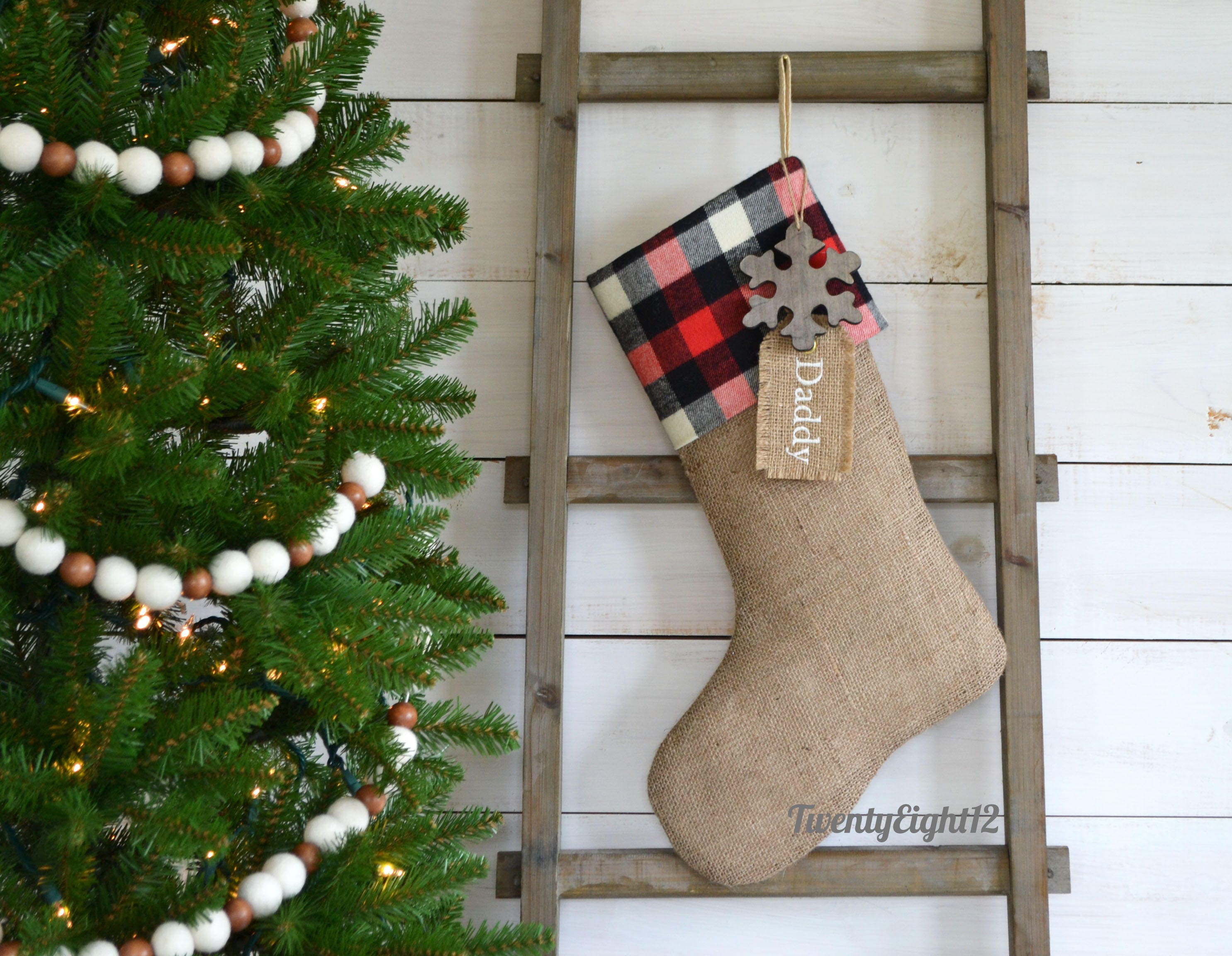 Gothic Christmas Stocking