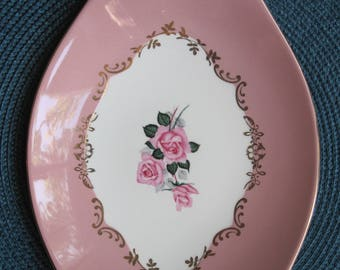 Figgjo Flint - Pink with roses