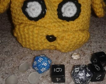 adventure time dice bag Jake the dog