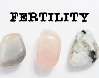 Healing Crystals For Fertility - Best Crystals For Fertility - Fertility Crystals and Stones - Fertility Crystal Sets - Crystal Gifts