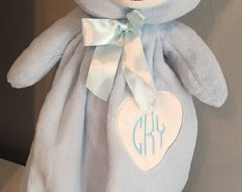 Personalized baby comfort bear