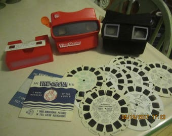 Lot of Viewmasters and Reels