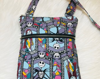 Nightmare Before Christmas Crossbody, Nightmare Before Christmas Messenger Bag, Disney Bag