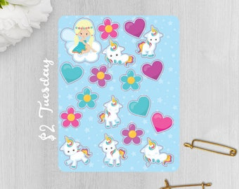 Baby Unicorn Stickers