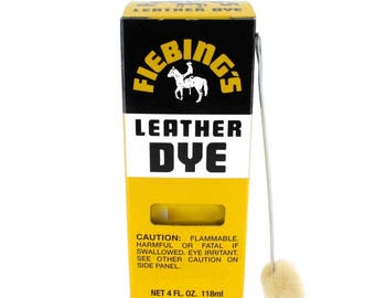 Fiebing's Leather Dye 4 oz - 28 colors