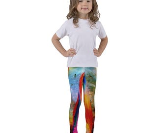 Bright Cosmic Kid's leggings