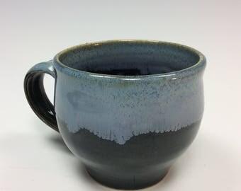 Handmade, stoneware, coffee mug