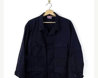 ON SALE Military Dark Blue Field Jacket / Shirt*