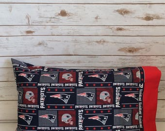 New England Patriots pillow case