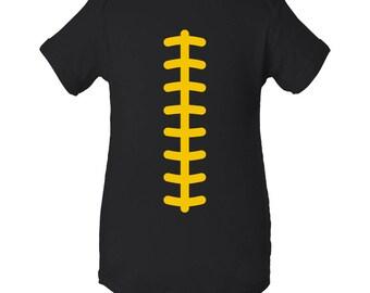 Football Team Colors Creeper - Black/Gold