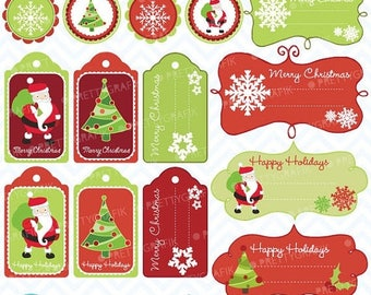 80% OFF SALE 80 Percent 0FF Sale christmas tags label frames clipart commercial use, vector graphics, digital clip art, images, gingerbread