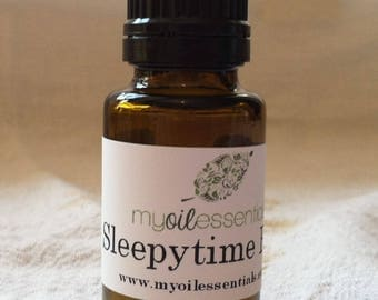 Sleepytime Essential Oil Blend, with Lavender and Chamomile