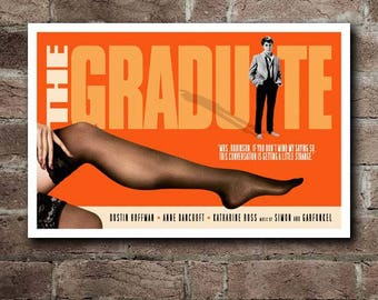 THE GRADUATE Movie Quote Poster