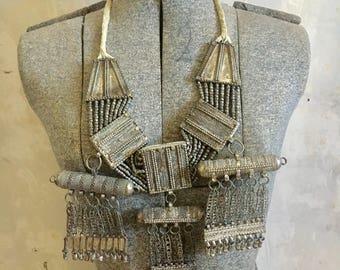 Antique beautiful yemeni necklace.